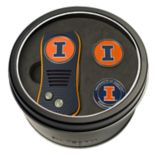 Team Golf Illinois Fighting Illini Switchfix Divot Tool & Two Ball Markers