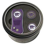 Team Golf Kansas State Wildcats Switchfix Divot Tool & Two Ball Markers
