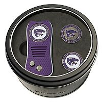 Team Golf Kansas State Wildcats Switchfix Divot Tool & Two Ball Markers