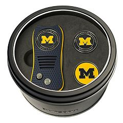 Team Golf Michigan Wolverines Switchfix Divot Tool & Two Ball Markers