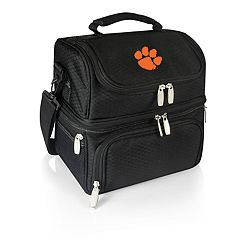 Picnic Time Clemson Tigers 7-Piece Insulated Cooler Lunch Tote Set