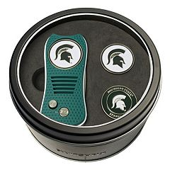 Team Golf Michigan State Spartans Switchfix Divot Tool & Two Ball Markers