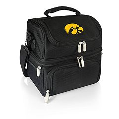 Picnic Time Iowa Hawkeyes 7-Piece Insulated Cooler Lunch Tote Set