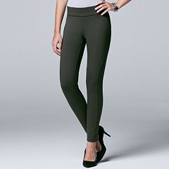 Petite Simply Vera Vera Wang Pull-On Skinny Pants