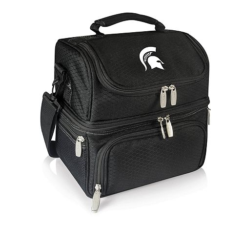 Picnic Time Michigan State Spartans 7-Piece Insulated Cooler Lunch Tote Set