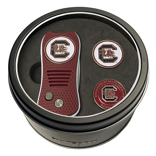 Team Golf South Carolina Gamecocks Switchfix Divot Tool & Two Ball Markers