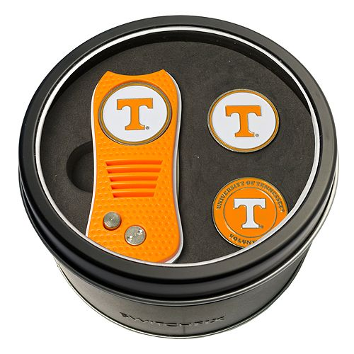 Team Golf Tennessee Volunteers Switchfix Divot Tool & Two Ball Markers