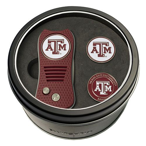 Team Golf Texas A&M Aggies Switchfix Divot Tool & Two Ball Markers
