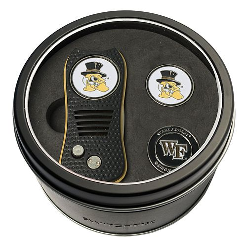 Team Golf Wake Forest Demon Deacons Switchfix Divot Tool & Two Ball Markers