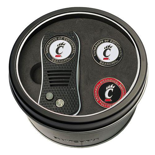 Team Golf Cincinnati Bearcats Switchfix Divot Tool & Two Ball Markers