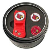 Team Golf Louisville Cardinals Switchfix Divot Tool & Two Ball Markers