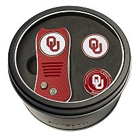 Team Golf Oklahoma Sooners Switchfix Divot Tool & Two Ball Markers