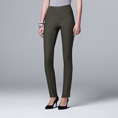 Petite Simply Vera Vera Wang Modern Fit Skinny Pants
