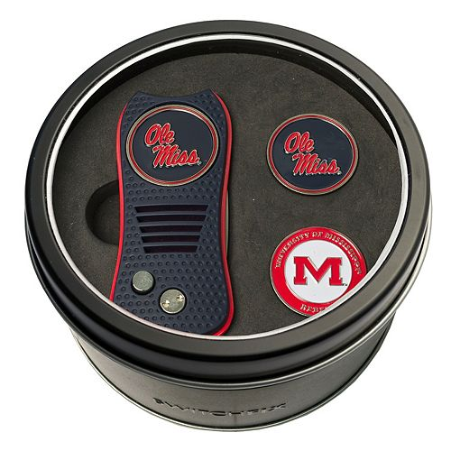 Team Golf Ole Miss Rebels Switchfix Divot Tool & Two Ball Markers