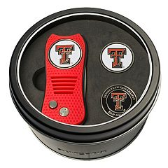 Team Golf Texas Tech Red Raiders Switchfix Divot Tool & Two Ball Markers