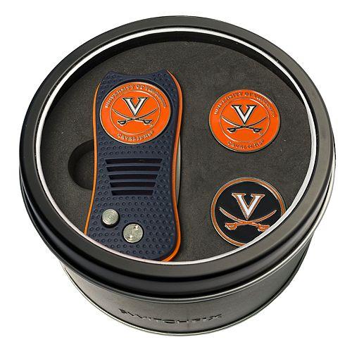 Team Golf Virginia Cavaliers Switchfix Divot Tool & Two Ball Markers