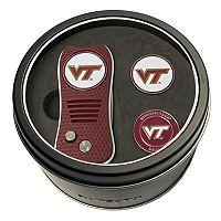 Team Golf Virginia Tech Hokies Switchfix Divot Tool & Two Ball Markers