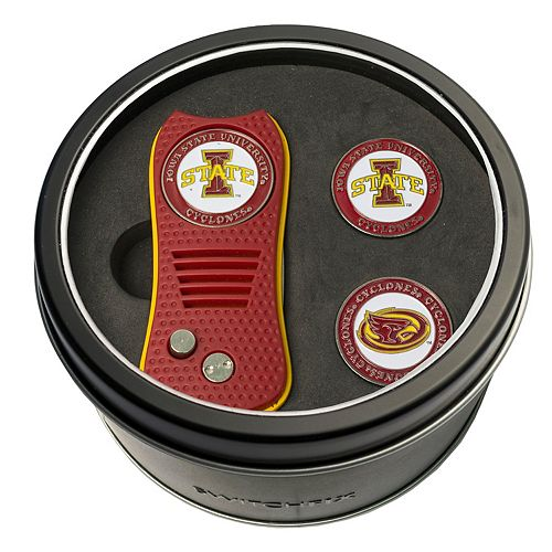 Team Golf Iowa State Cyclones Switchfix Divot Tool & Two Ball Markers