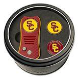 Team Golf USC Trojans Switchfix Divot Tool & Two Ball Markers