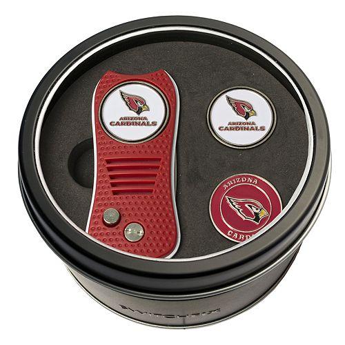 Team Golf Arizona Cardinals Switchfix Divot Tool & Two Ball Markers