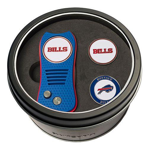 Team Golf Buffalo Bills Switchfix Divot Tool & Two Ball Markers