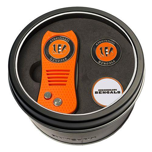 Team Golf Cincinnati Bengals Switchfix Divot Tool & Two Ball Markers