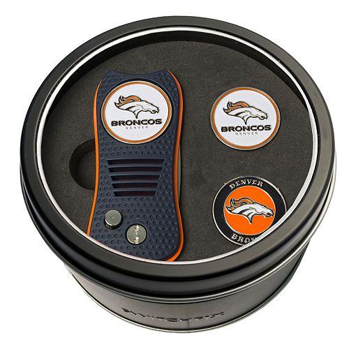 Team Golf Denver Broncos Switchfix Divot Tool & Two Ball Markers