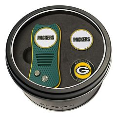 Team Golf Green Bay Packers Switchfix Divot Tool & Two Ball Markers