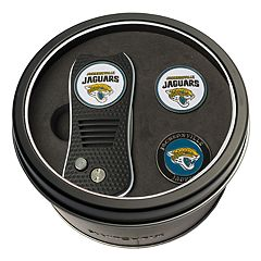 Team Golf Jacksonville Jaguars Switchfix Divot Tool & Two Ball Markers
