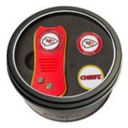 Team Golf Kansas City Chiefs Switchfix Divot Tool & Two Ball Markers