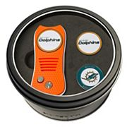 Team Golf Miami Dolphins Switchfix Divot Tool & Two Ball Markers