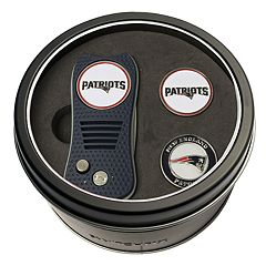 Team Golf New England Patriots Switchfix Divot Tool & Two Ball Markers
