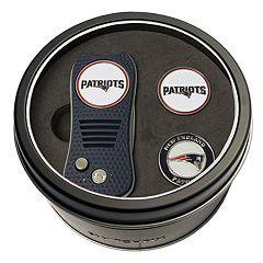 Team Golf New EnglandPatriots Switchfix Divot Tool & Two Ball Markers