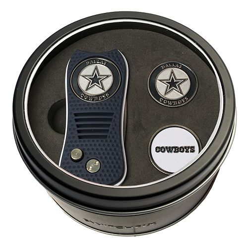 Team Golf Dallas Cowboys Switchfix Divot Tool & Two Ball Markers