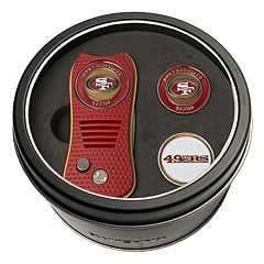 Team Golf San Francisco 49ers Switchfix Divot Tool & Two Ball Markers