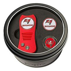 Team Golf Tampa Bay Buccaneers Switchfix Divot Tool & Two Ball Markers