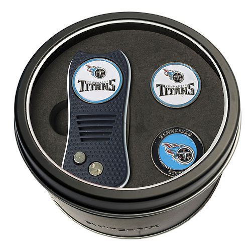 Team Golf Tennessee Titans Switchfix Divot Tool & Two Ball Markers
