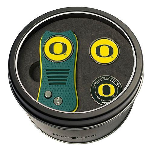 Team Golf Oregon Ducks Switchfix Divot Tool & Two Ball Markers