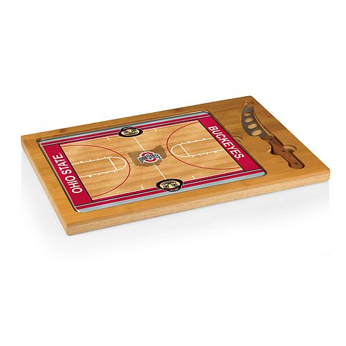 Picnic Time Ohio State Buckeyes Cutting Board Serving Tray