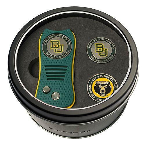 Team Golf Baylor Bears Switchfix Divot Tool & Two Ball Markers