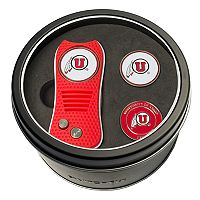 Team Golf Utah Utes Switchfix Divot Tool & Two Ball Markers