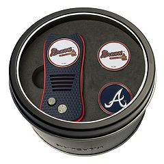 Team Golf Atlanta Braves Switchfix Divot Tool & Two Ball Markers