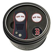 Team Golf Boston Red Sox Switchfix Divot Tool & Two Ball Markers