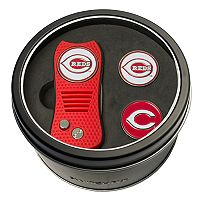 Team Golf Cincinnati Reds Switchfix Divot Tool & Two Ball Markers