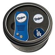 Team Golf Los Angeles Dodgers Switchfix Divot Tool & Two Ball Markers
