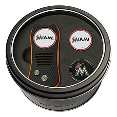Team Golf Miami Marlins Switchfix Divot Tool & Two Ball Markers