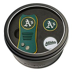 Team Golf Oakland Athletics Switchfix Divot Tool & Two Ball Markers