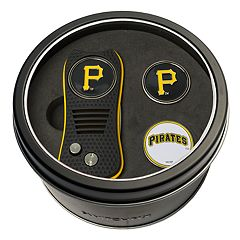 Team Golf Pittsburgh Pirates Switchfix Divot Tool & Two Ball Markers