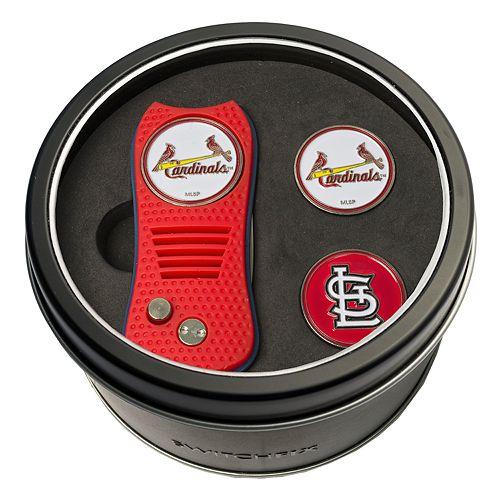 Team Golf St. Louis Cardinals Switchfix Divot Tool & Two Ball Markers