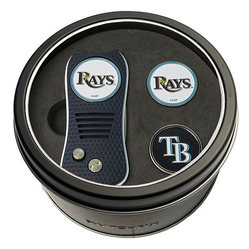 Team Golf Tampa Bay Rays Switchfix Divot Tool & Two Ball Markers
